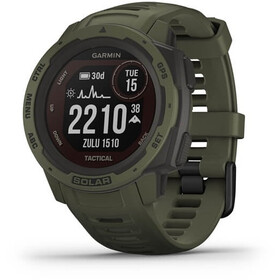 Garmin Instinct Solar Tactical GPS Smartwatch, light brown